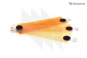Zestaw gotowych filtrów korekcyjnych C.T.Orange (CTO)