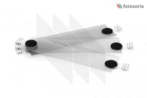 Zestaw gotowych filtrów korekcyjnych Neutral Density