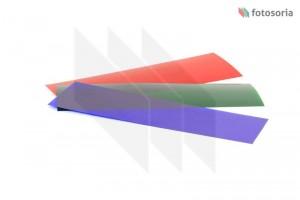 Zestaw filtrów efektowych RGB